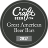 2017 Craft Great American Beer Bars