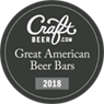 2018 Craft Great American Beer Bars