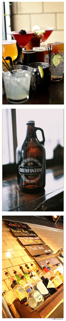 Brewfontaine available drinks list
