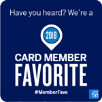 2018 Card Member Favorite