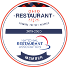 Ohio Restaurant Association 2019-20 Member